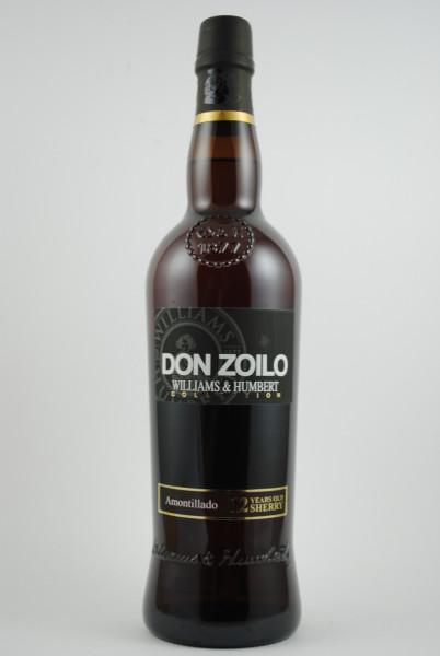 AMONTILLADO Don Zoilo SHERRY, Williams & Humbert